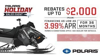 Polaris - Holiday Sales Event - Snowmobiles